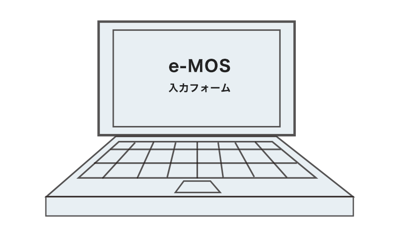ノートパソコン e-MOS